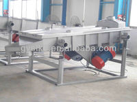 building material linear vibrating screen for fine size