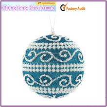 Brand New Green cheap shatterproof christmas balls