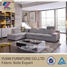 modular new trend sofa, wooden sofa