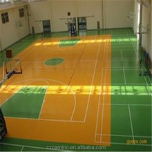 pvc sheet flooring basketball