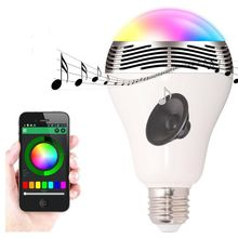 Timer+Group+Music+Speaker IOS Android RGBW Bluetooth Smart Led Bulb Lighting led bulb with bluetooth speaker