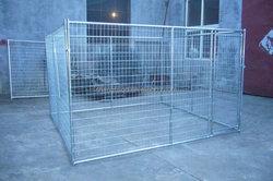 galvanized steel wire mesh fencing dog kennel