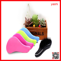 YASHI professional plastic detangle hair brush for different colour