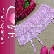china por mayor precio barato cordón liguero panty sexy conjunto de ropa interior