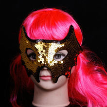 Import China Beautiful Bat sequined mask