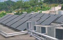 Blue selective coating solar water heater flat plate solar collector