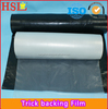 Trick backing film for embroidery