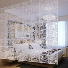 GP001 Eco-friendly Wood-plastic Hanging Folding Screen Room Divider