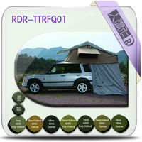 hot sale car camping tent with changing room / cloth car camping tent / roof top tents for vehicle camping