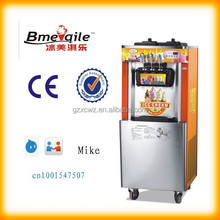 32L Floor stand 3-head soft ice cream machine maker