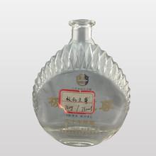 OEM super flint empty fancy specialty glass bottles