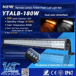 Y&T LED Spot/flood/combo beam light bar! AMBER colour changing LED light bars Emergency Warning Fire Flash led light
