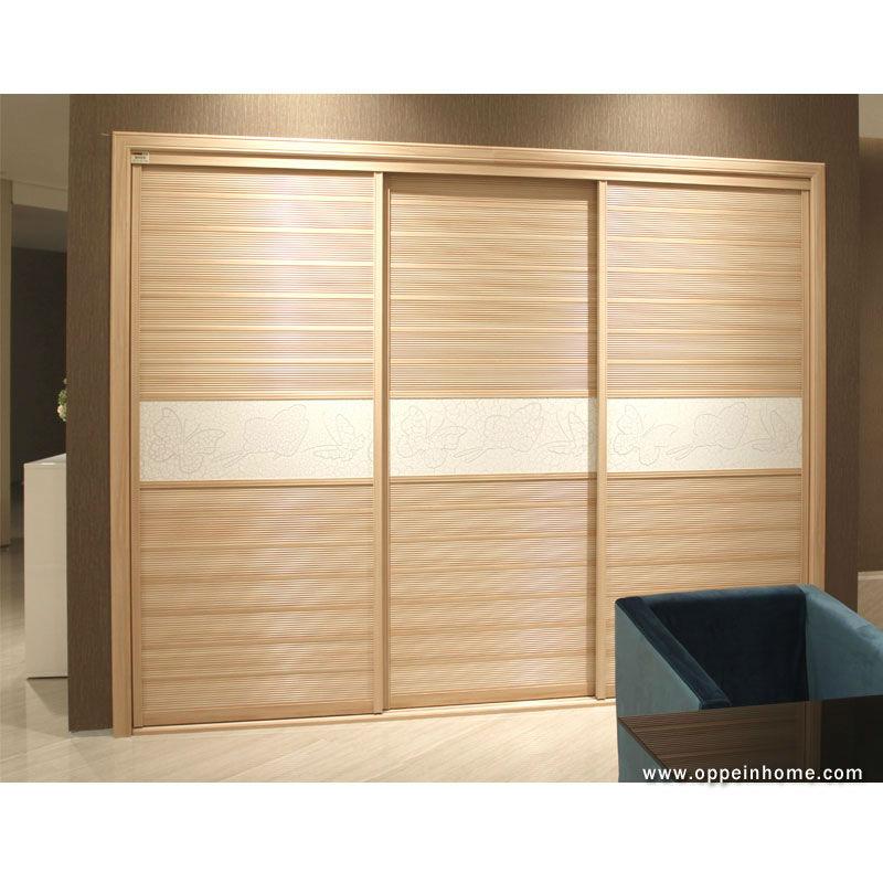 Moderno oppein muebles del dormitorio 3 puertas correderas - Armarios de madera para dormitorios ...
