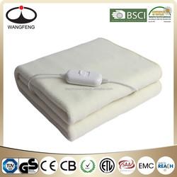 electric blanket synthetic wool heat blanket CE GS ETL
