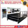 XMQ-1050S Automatic corrugated board printing slotting die cutting machine with touch screen