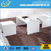 2015 New design modern CT005 Unfinished solid wood oval mdf coffee tables