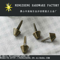 nickel-free colorful spike decorative iron spikes