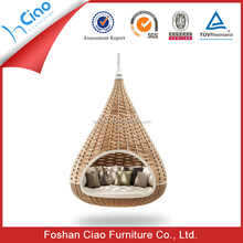 New design outdoor furniture cocoon hanging chair