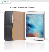 2016 new arrival pu leather case for ipad , leather cover for ipad mini 4