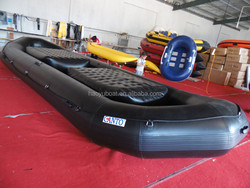 7.2m inflatablet rafting Sport boat t With PVC or HYPALON tubes drifting boat