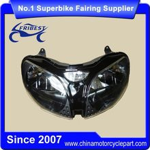 FHLKA007 Motorcycle Headlights For ZX 6R ZX6R 2000-2002 ZX 9R ZX9R 2000-2003 ZZR600 2005-2008 Clear Lens