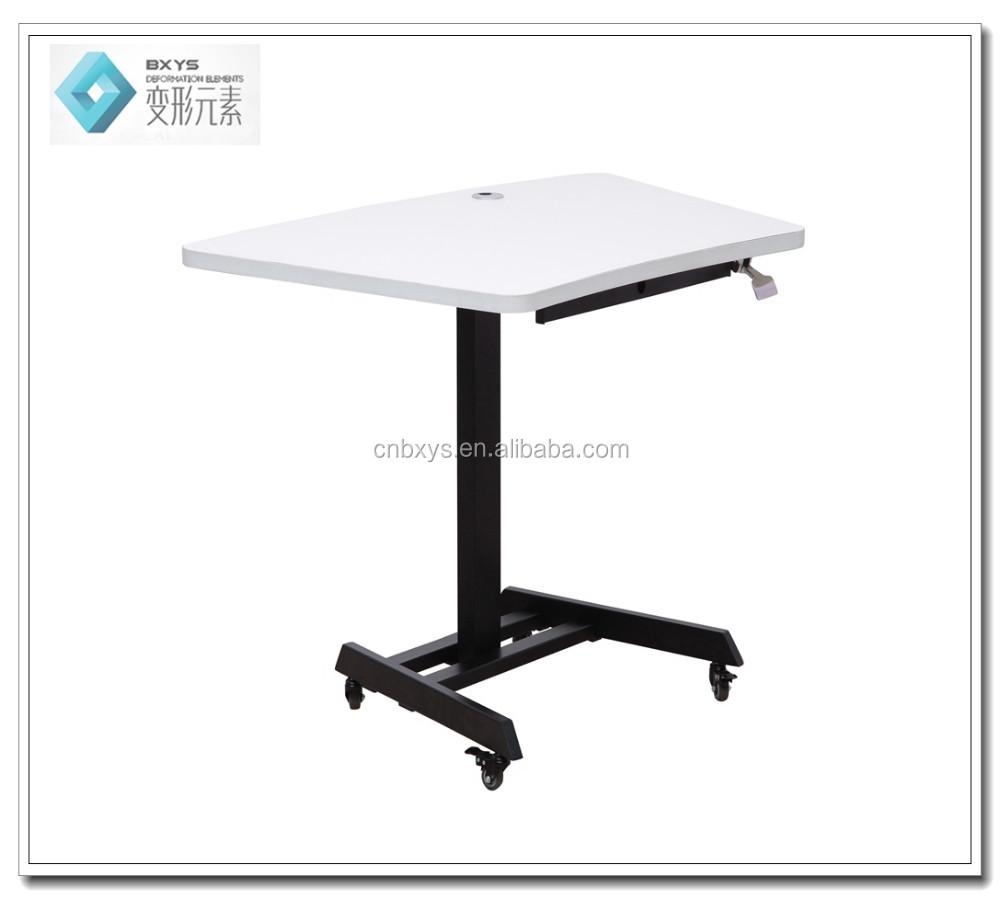 2017 pneumatique hauteur r glable ordinateur de bureau avec 700 600mm de bureau tables en m tal - Hauteur standard bureau ordinateur ...