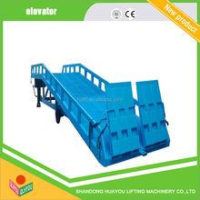 Móvil loading ramp Mobile container load hidráulica móvil de carga de contenedores rampa