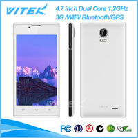 China Supplier Dual SIM Dual Standby 4.7 inch 3G WIFI GPS Mobile Android Phones