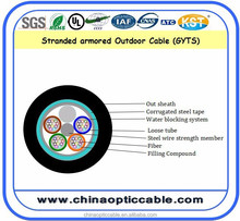 24-36-48 Core Outdoor Steel Armored Optical Fiber(GYTS)