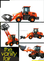 2.0T Powerful preformance favourable price agricultural farm and garden tractor type front end loader ZLY920