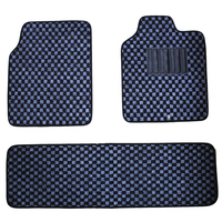 current auto car two rows car mats three pieces