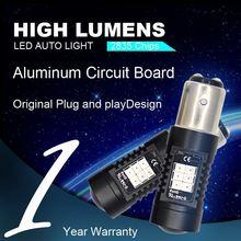 2013 HOT 25SMD 3528 DC/ AC 8v- 30v h1 car led lamp fog led light auto led bulb