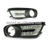 12V professional led daytime running light for Nissan Tidda/ car accessory for nissan/china new car part