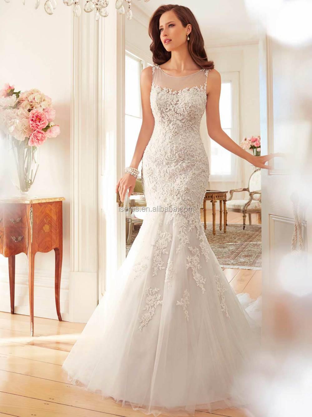 Bling Wedding Dresses 2015 Bling Lace Wedding Dresses