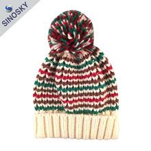 High Quality Wool Felt 100% Acrylic Winter Women's Hat with Ball