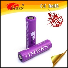 li-ion battery,3.7v imren 18650 battery,Hot selling 40A IMREN 18650 2500mah 40a high discharge rate e-cig battery replace VTC5