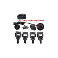 DHL Auto Car OBD OBD2 Diagnostic CDP Pro Cables Trucks 8 Cables For DELPHI DS150E AUTOCOM Car diagnostic tools Scanner