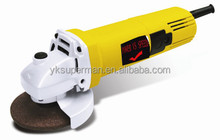 100mm 4inch electric angle grinder yellow collow DW801 100% copper of power tools