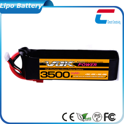 Shenzhen CXJ Top Battery rc airplane wing design original li-polymer battery