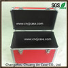 Red Aluminum Briefcase Storage Tool Case With Lock