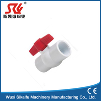 Standard Manual Power PVC ball valve for water