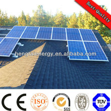 2kw CE TUV IEC 61215 ISO certificate on grid solar power system for home and industrial
