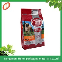 custom gravure printing quad sealed pouches or bag using laminated material