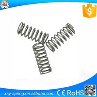 nickel plated ballpoint pen mini compression coil spring for furnitures