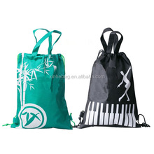 Colorful Travel Cloth Drawstring Bag Polyester Eco-friendly Drawstring Sacks