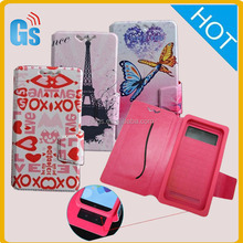 3D Custom Design Printing Leather For Vivo Y28 Mobile Phone Cover Universal Case