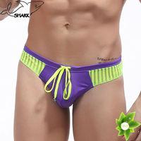 Promotional swimwear sexy man bikini wholesale brand nylon swimming wear