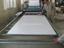 Light Weight Vinyl Faced Gypsum Ceiling Tile/ Gypsum False Ceiling Price