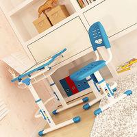 Plastic Multi-functional Kid desk and chair set C302