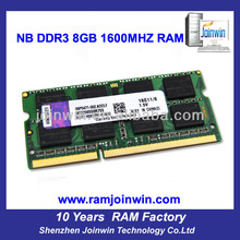 China motherboards ddr3 8gb ram memory used laptops